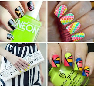 7 Ways to Rock Fluorescent Nails