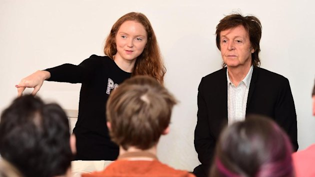 Sir Paul McCartney Has Swapped Stadiums For The Back Of A London Shop As He Entertained One His Smallest Audiences
