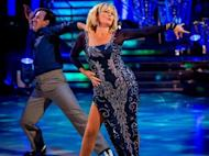 Fiona Fullerton looked amazing but her dance didn't