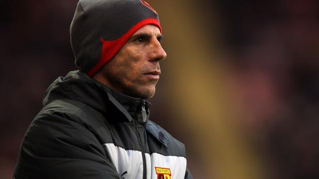 Football - Zola slams departure speculation