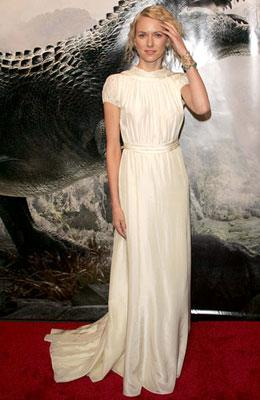 Naomi Watts at the New York premiere of Universal Pictures' King Kong