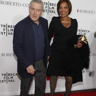 "Robert De Niro, left, and Grace Hightower, right, attend a Tribeca Film Festival closing night special screening of ""Goodfellas"" at the Beacon Theater on Saturday, April 25, 2015, in New York. (Photo by Andy Kropa/Invision/AP)"