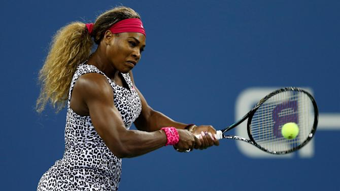 US Open - Serena shares spotlight with 15-year-old