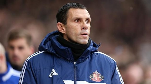Gus Poyet's Sunderland secured a last-gasp draw against Cardiff on Saturday