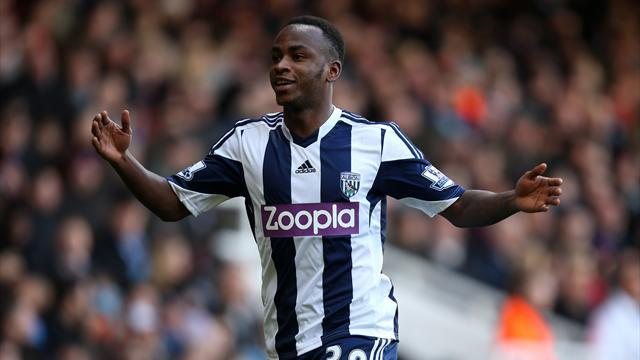 Premier League - West Brom beat Hammers to hit magic 36-point mark