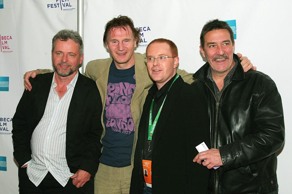 2009 Tribeca Film Festival The Eclipse Aidan Quinn Liam Neeson Conor McPherson