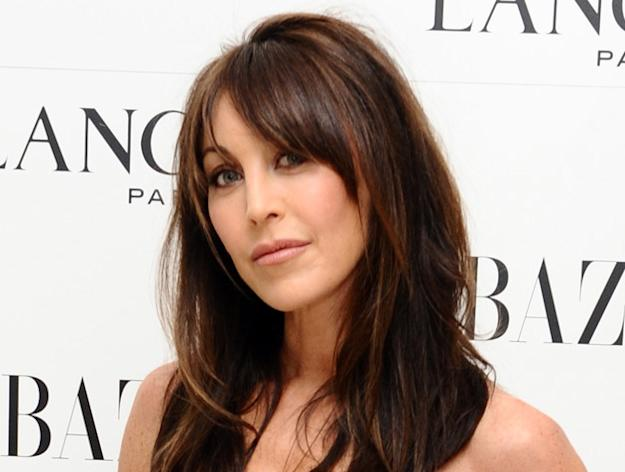 Tamara Mellon during a pre-Bafta party organized by Harpers Bazaar and Lancome, at the St. Martin's Lane Hotel in London