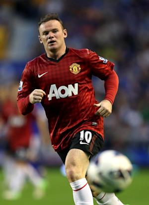Wayne Rooney is currently sidelined by injury