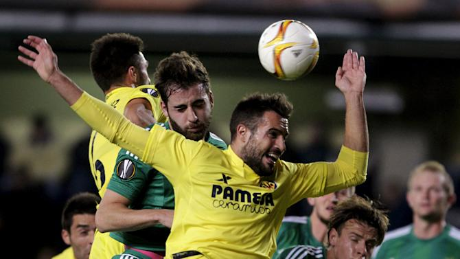 Football Soccer - Villarreal v Rapid Wien - Europa League Group Stage - Group E - Madrigal, Villarreal, Spain