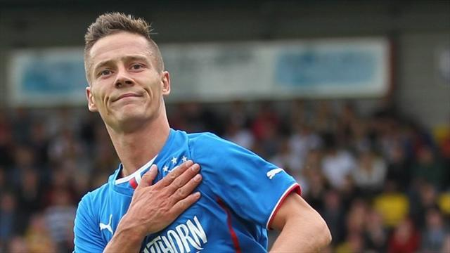 Scottish Football - Rangers' Black given 10-match ban for breaking betting rules