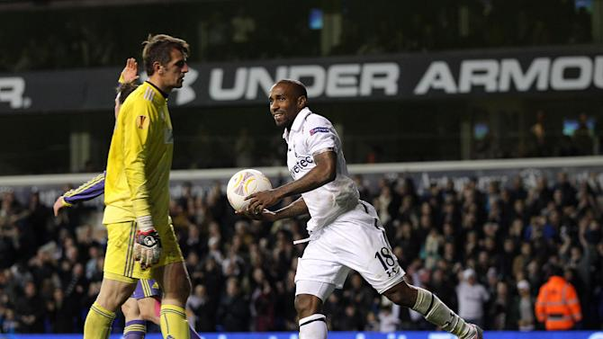 Jermain Defoe overtook Teddy Sheringham in the Tottenham scoring charts on Thursday