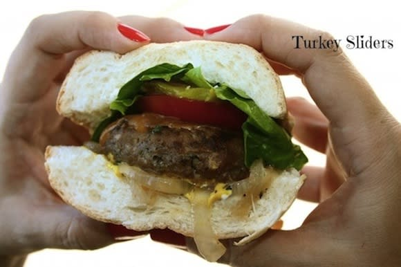 The Most Juicy Turkey Burger