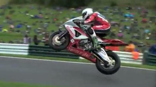 British Superbikes in slow motion