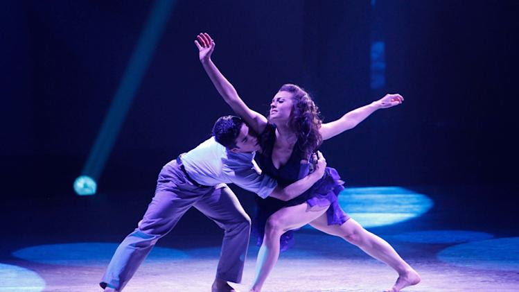 "Contestant Jess LeProtto and  All-Star Kathryn McCormick perform a Contemporary routine to ""The Lonely,"" choreographed by Stacey Tookey on ""So You Think You Can Dance."""