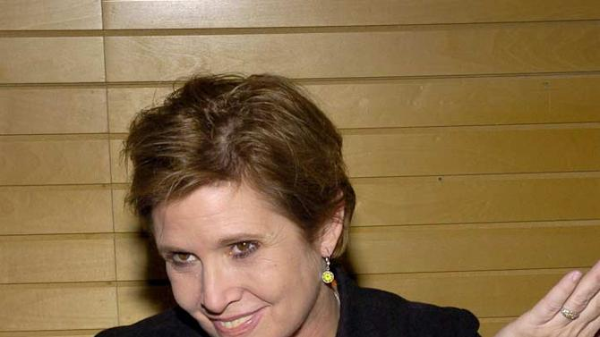 Carrie Fisher Book Signing