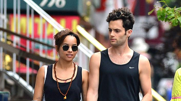 Penn Badgley, Zoe Kravitz