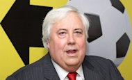 File photo of billionaire mining magnate Clive Palmer, who has commissioned state-owned Chinese company CSC Jinling Shipyard to construct Titanic II with the same dimensions as its predecessor