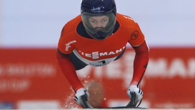 Skeleton - Britain's Lizzy Yarnold clinches skeleton World Cup title