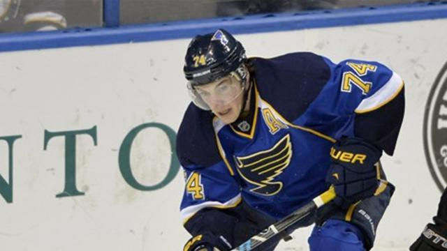 Ice Hockey - Oshie stars in Blues win over Kings