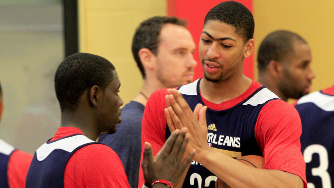 Pelicans Training Camp Basketball