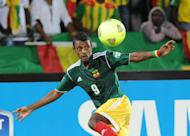 Ethiopia's forward Getaneh Kebede eyes the ball during the 2013 African Cup of Nations Group C match at the Royal Bafokeng stadium in Rustenburg on January 29, 2013. Ethiopia snatched a dramatic 1-0 home victory over Botswana on Sunday to keep alive hopes of a first appearance at the World Cup in Brazil next year
