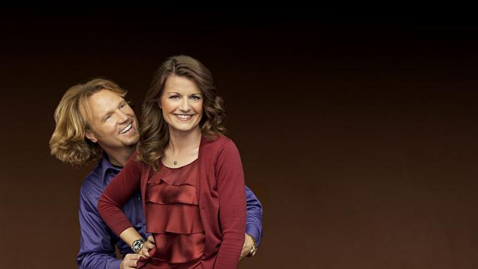 """Kody and Robyn in """"Sister Wives."""""""