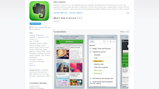 15 Brilliant iPhone and iPad Apps for Business image Evernote 600x336