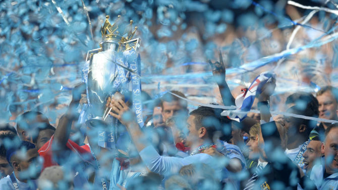 City celebrate title
