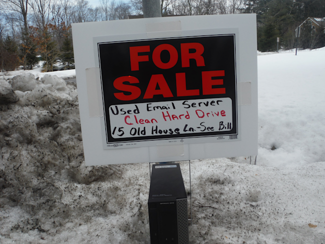One Of Hillary Clinton 39 S Neighbors Is Trolling Her With