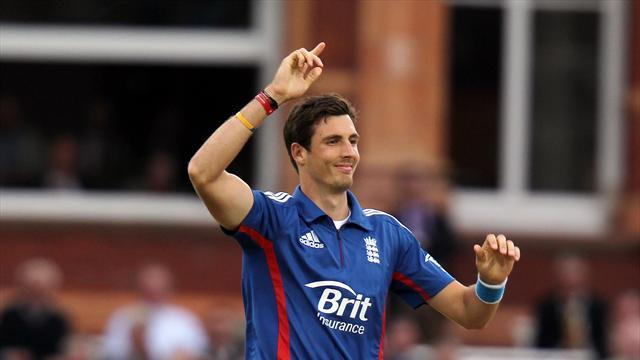 Cricket - Finn on fire for England