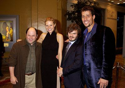 Premiere: Jason Alexander, Gwyneth Paltrow, Jack Black and Tony Robbins at the Westwood premiere of Shallow Hal - 11/1/2001