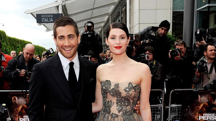 Prince of Persia The Sands of Time UK Premiere 2010 Gemma Arterton Jake Gyllenhaal