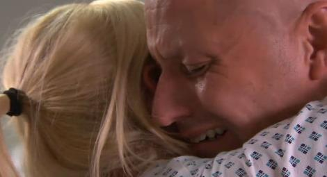 An emotional Tony learns that he's beaten cancer!