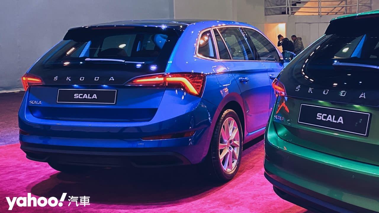 【新車圖輯】小孩才做選擇、Skoda Scala說它全都要!89.9萬起在台上市!