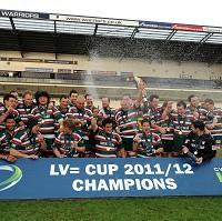 Leicester won last year's LV= Cup final at Sixways