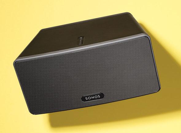 sonos play 3 wireless speaker review yahoo. Black Bedroom Furniture Sets. Home Design Ideas