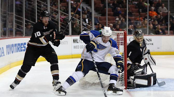 St Louis Blues v Anaheim Ducks