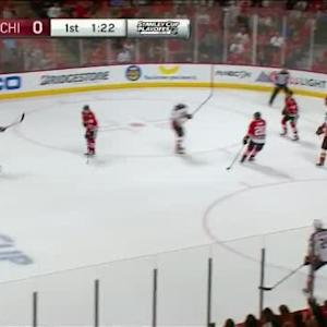 Corey Crawford Save on Cam Fowler (18:41/1st)