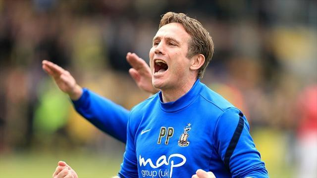 League Two - Parkinson aiming for the top