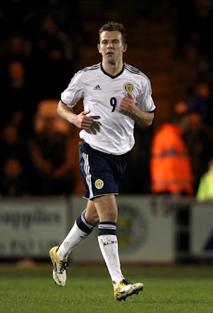 Jordan Rhodes was delighted to get a run out for Scotland