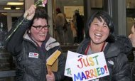 Washington State's First Same-Sex Couples Wed