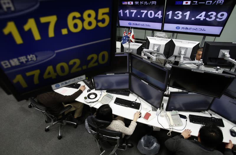 Asian shares edge up after Wall Street gains