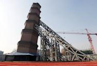 The Wanshou Temple Tower in Xi'an, pictured on November 27, has earned comparisons with Italy's Leaning Tower of Pisa and worried a school in its shadow, state media reported Thursday