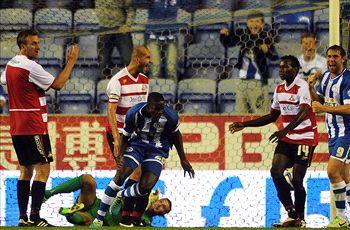 Wigan Athletic 2-2 Doncaster Rovers: Barnett salvages late point for Latics
