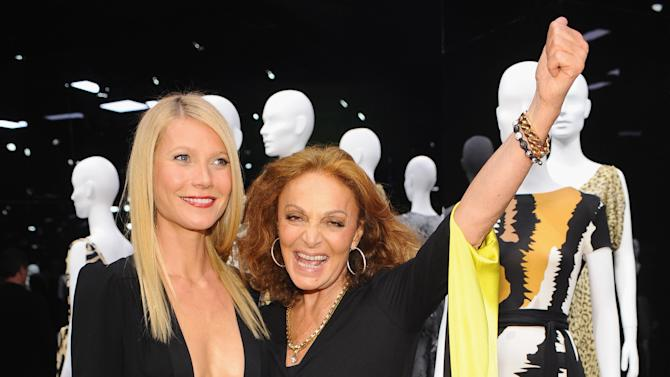 Diane Von Furstenberg: 40th Anniversary of the Wrap Dress