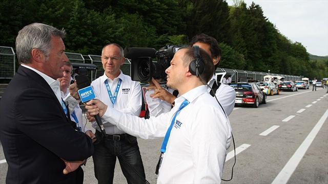WTCC - Thompson tops warm-up as Lotti defends Salzburgring track