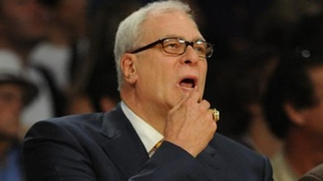 2009-2010 Serie A Los Angeles Lakers Phil Jackson