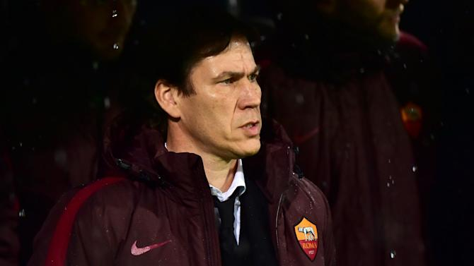 Roma must prove themselves after Barcelona thrashing - Garcia
