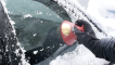 Wipe away ice and snow easily with the Scrape-A-Round