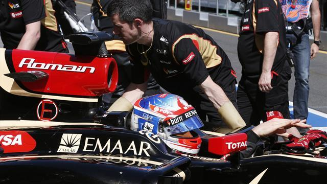 Formula 1 - Oz performance encouraging for Lotus
